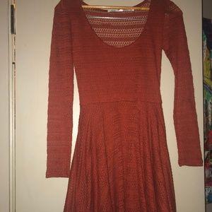 Kimchi Blue Copper Fit&Flare Dress S